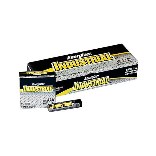 Energizer EN92 Industrial MAX AAA Alkaline Batteries (24/Pack)