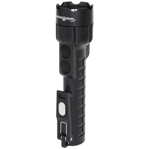Bayco NSP-2422B Dual-Light Black Flashlight with Dual Magnets