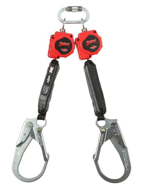 Protecta 3100414 Twin-Leg with 6' Web and Steel Rebar Hooks