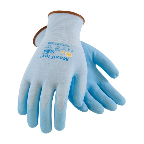 MaxiFlex 34-824 Gloves with Micro-Foam Grip (Dozen)