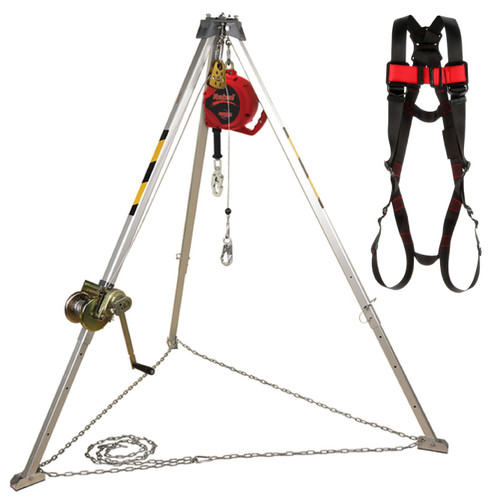 Protecta AA805AG Tripod 8' with 50' Winch and 50' SRL