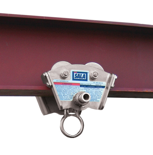 DBI SALA 2103147 Trolley for I-Beam - Stainless Steel