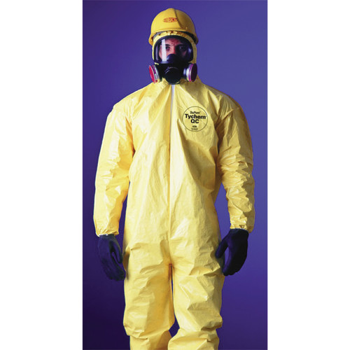 Dupont QC127S Coverall with Elastic Openings at Wrists and Ankles 12PK