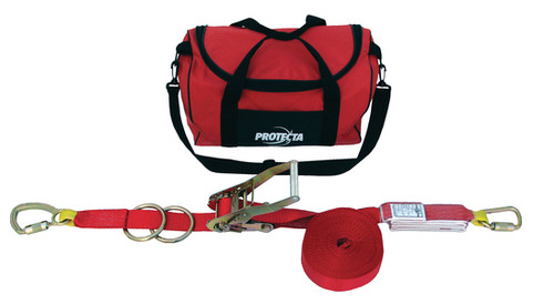 Protecta 1200105 PRO-Line Synthetic Horizontal Lifeline System 60 ft