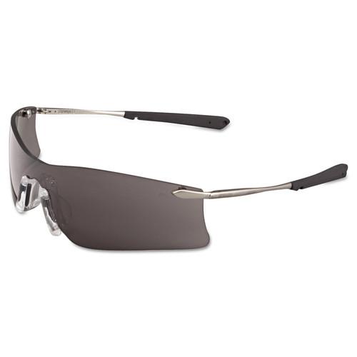 Rubicon T4112AF ProGrade Gray Lens Safety Glasses