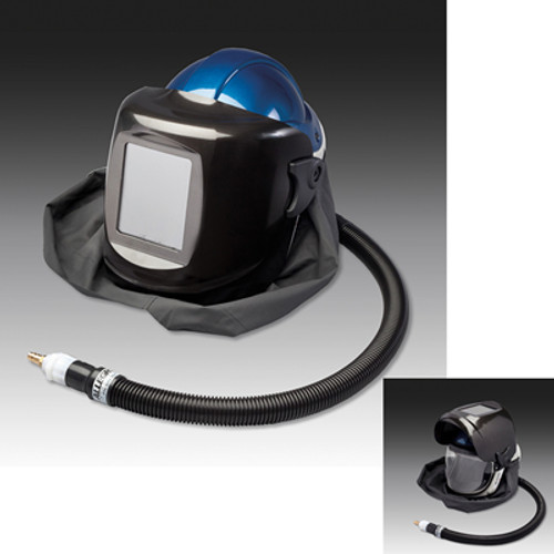 Allegro 9904‐WB Deluxe Supplied Air Shield and Welding Helmet (Large)