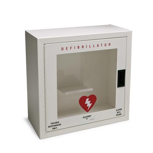 Allegro 4210-S Small Metal Defibrillator w/ Alarm & Strobe