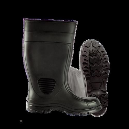"HF 70667 Black Premier Economy Industrial Steel Toe Boots (8""-13"")"
