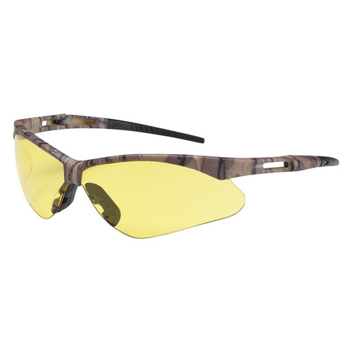 Bouton 250-AN-10122 Safety Glasses Amber Anti-Scratch Lens (Dozen)