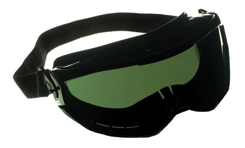 Jackson Safety 3010338 MonoGoggle XTR Green Chemical Splash Goggles