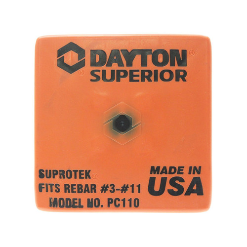 Dayton Superior PC110 OSHA Rebar Cap Fits #3 - #11 Rebar Sizes