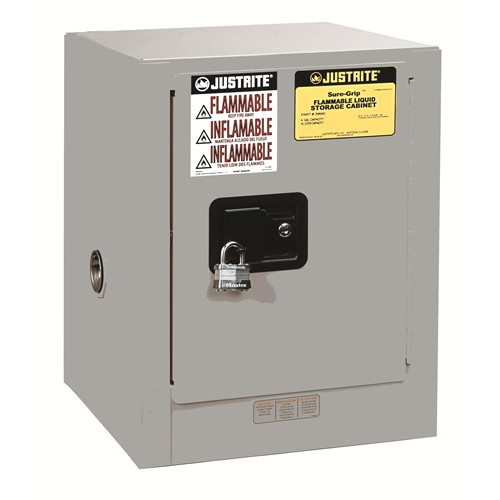 Justrite 890403 Sure-Grip EX Flammable Safety Cabinet 4 Gal
