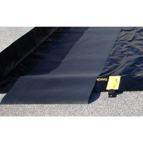 Justrite 28354 Track Mat 3'W x 28'L Black