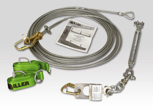 Miller SG8183-10/60FT Horizontal Lifeline Kit 60 Ft