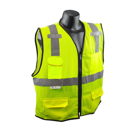 Radians SV7E-2Z Surveyor Class 2 Safety Vest
