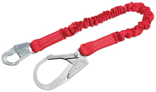 Protecta 1340121 Stretch Shock Absorbing 6' Lanyard
