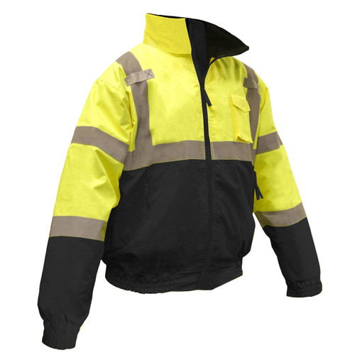 Radians SJ110B-3Z Hi-Viz Class 3 Bomber Safety Winter Jacket