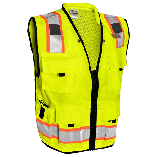 ML Kishigo S5000 Class 2 Lime Professional Surveyors Vest