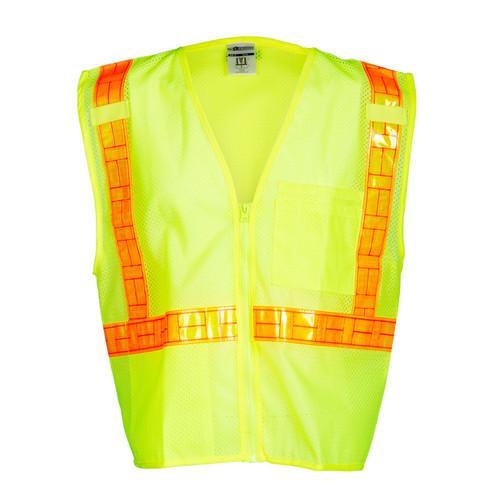 ML Kishigo 1076 Class 2 Lime Oralite All Mesh Vest