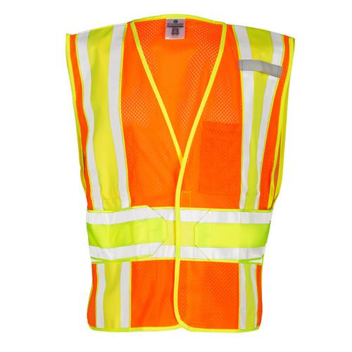 ML Kishigo 1167 Class 2 Orange 4 Season Adjustable Mesh Vest
