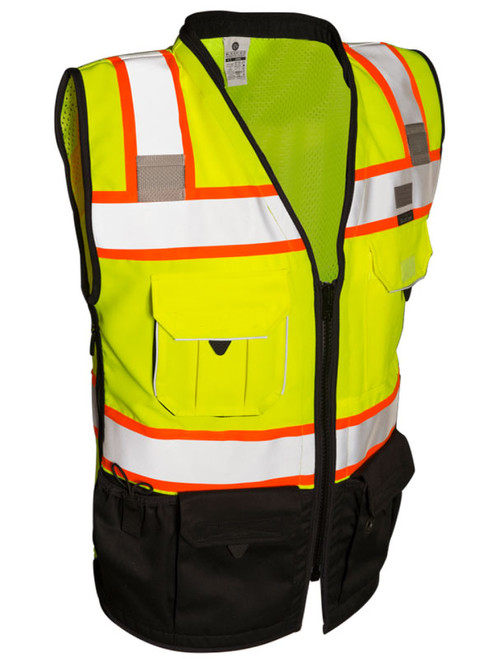 ML Kishigo S5002 Class 2 Lime Surveyors Safety Vest