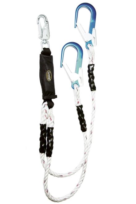 Guardian 01131 Rope Double Leg Lanyard  6'