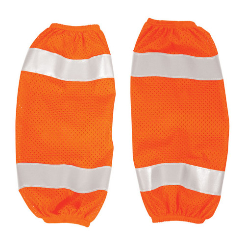 ML Kishigo 3931-6 Orange Mesh Gaiters (6 per Pack)