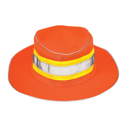 ML Kishigo 2823 Lime Full Brim Safari Hat Size S-M