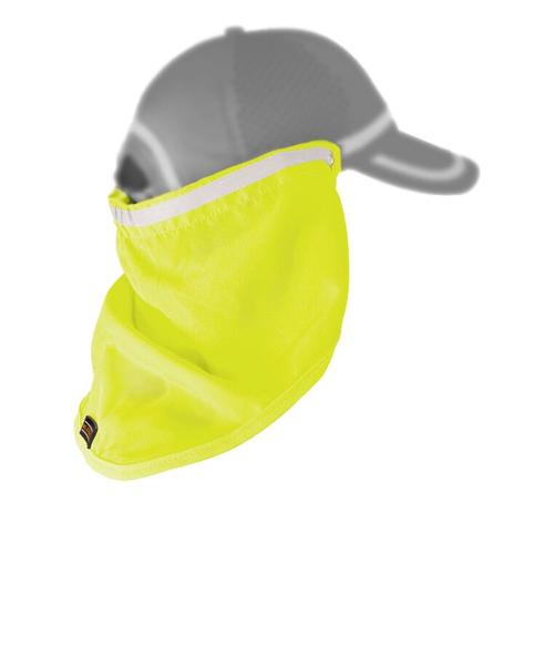 ML Kishigo 2811 Lime Baseball Cap Sun Shield