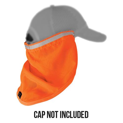 ML Kishigo 2812 Orange Baseball Cap Sun Shield