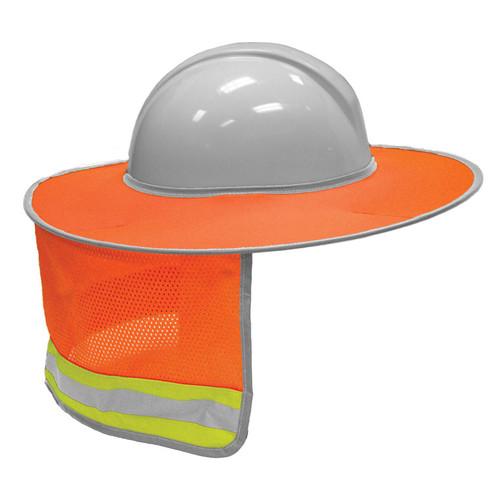 ML Kishigo 2874 Orange Full Brim Sun Shield