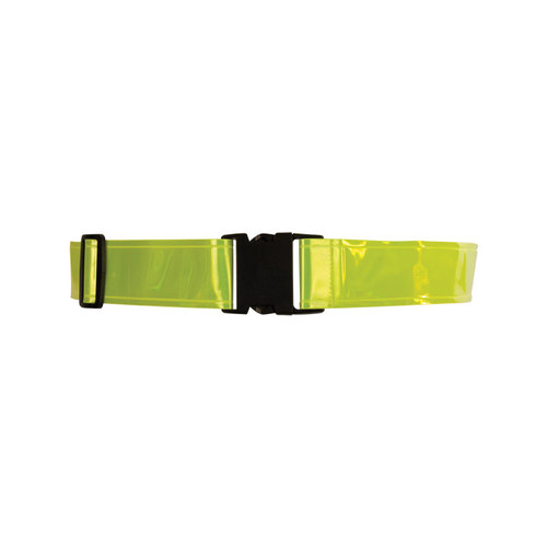 ML Kishigo 3896-6 Lime Reflective Waist Bands (6 per Pack)