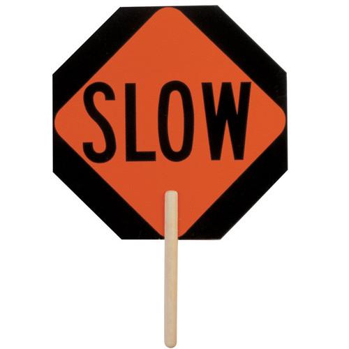 ML Kishigo 5950 Non Reflective Slow - Stop Sign