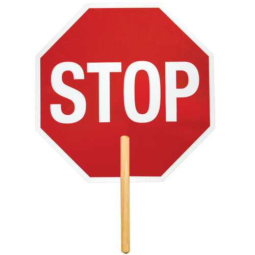 ML Kishigo 5961 Reflective High Intensity Grade Stop Sign