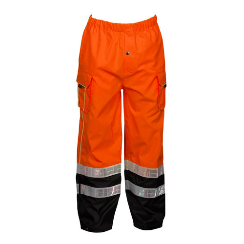 ML Kishigo RWP107 Class E Orange Premium Rainwear Pants