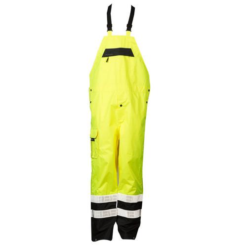 ML Kishigo RWB106 Class E Lime Premium Rainwear Bib
