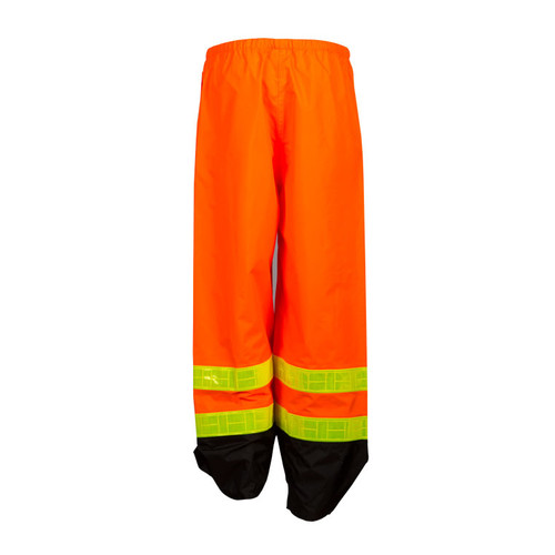 ML Kishigo RWP101 Class 3 Orange Strorm Stopper Pro Rainwear Pants