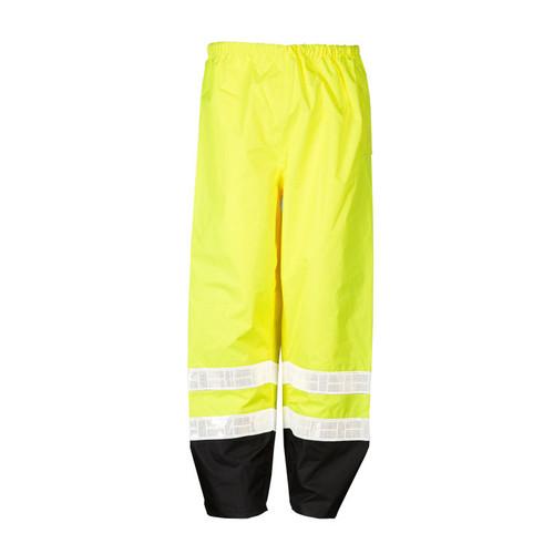 ML Kishigo RWP100 Class 3 Lime Strorm Stopper Pro Rainwear Pants