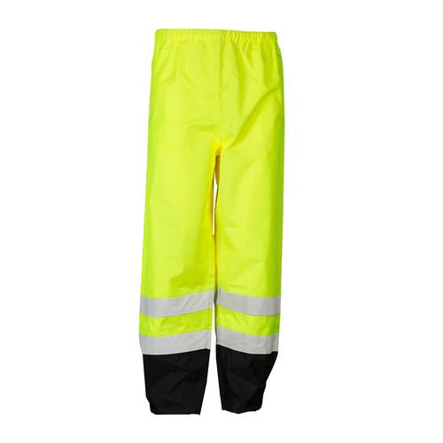 ML Kishigo RWP102 Class 3 Lime Storm Cover Rainwear Pants
