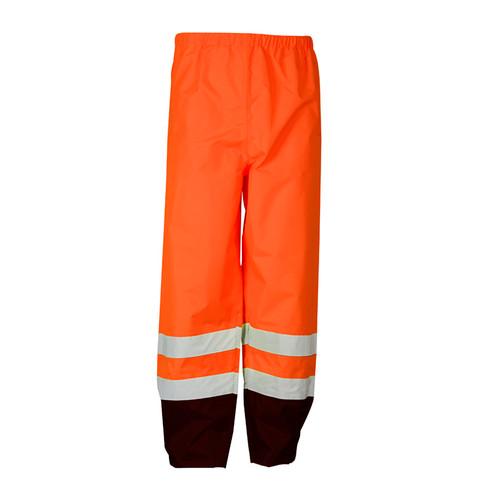 ML Kishigo RWP103 Class 3 Orange Storm Cover Rainwear Pants