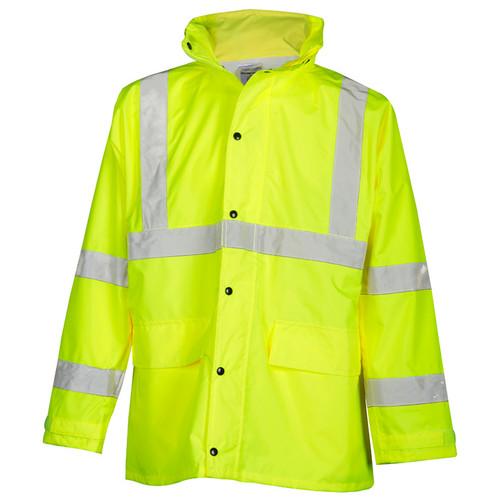 ML Kishigo RW110 Lime Rainwear Set