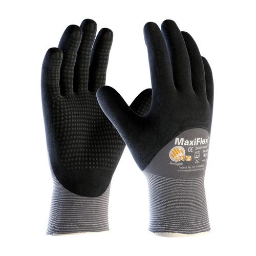 MaxiFlex 34-845 Gloves with Nitrile Micro-Foam Grip (Dozen)