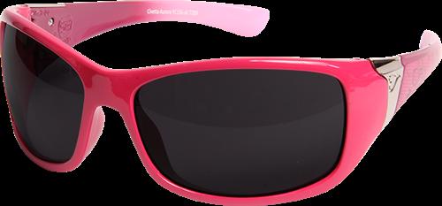 Edge Eyewear YC156-A1 Pink Civetta Aurora Non Polarized Smoke Lens (Each)