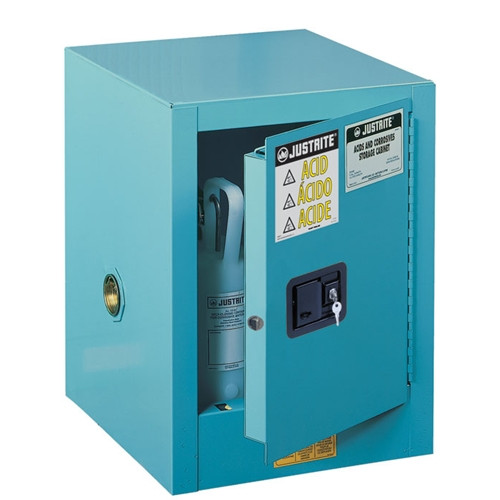 Justrite 890402 Sure-Grip EX Flammable Safety Cabinet 4 Gal