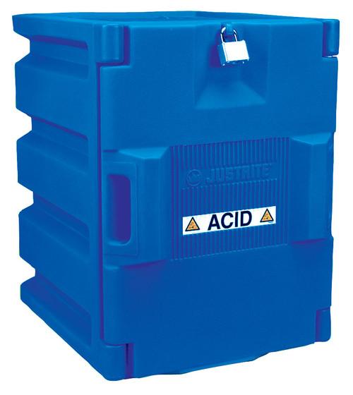 Justrite 24040 Acid Safety Cabinet Two 4L Bottles