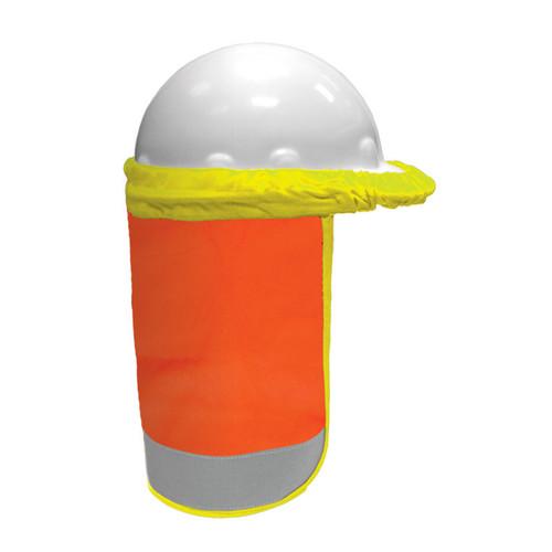 ML Kishigo F2801 FR Orange Hard Hat Sun Shield