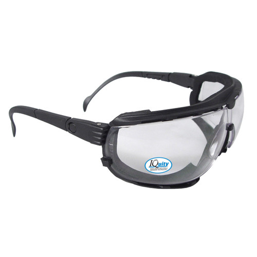 Radians DG1-13 IQUITY Clear Anti Fog Foam Lined Safety Goggle (Dozen)