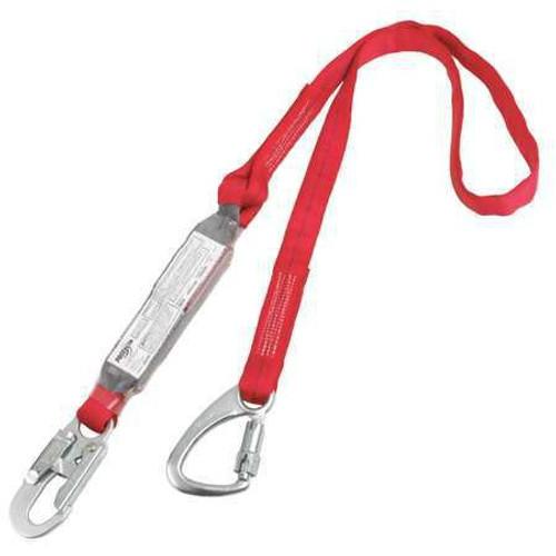 Protecta 1340040 Pack Tie-Back Tie-Off Shock Absorbing Lanyard 6'