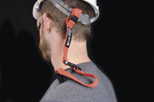 Miller MHARDHATLAN Adjustable Hard Hat Lanyard with Storage Clip