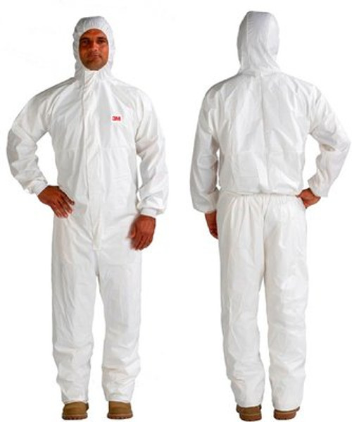 3M 4545 Disposable Protective Coverall Safety Work Wear (20/Case)